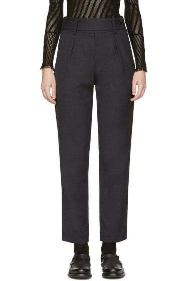 Issey Miyake - Black Tailored Trousers