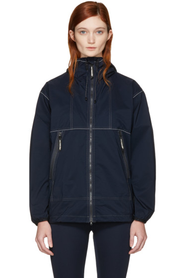and Wander - Navy Pertex Wind Jacket