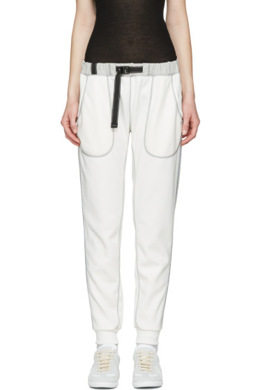 and Wander - Off-White Ponte Lounge Pants