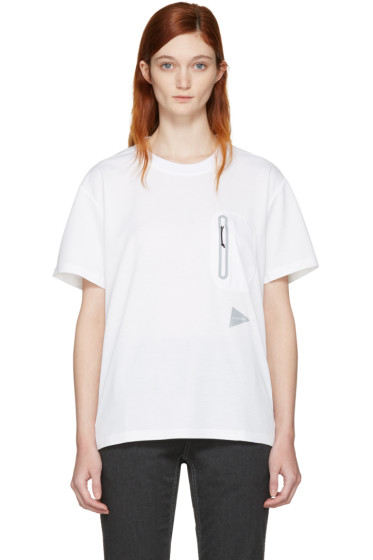 and Wander - Off-White Seamless T-Shirt