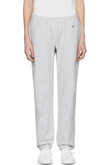 Champion Reverse Weave - Grey Warm Up Lounge Pants