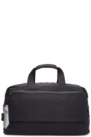 Stone Island - Black Canvas Duffle Bag