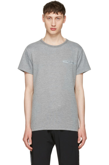 ISAORA - Grey Tech T-Shirt