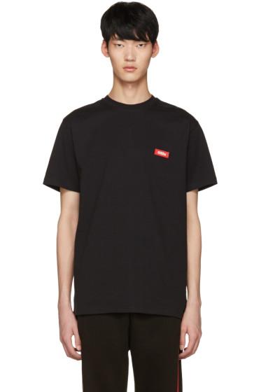 032c - Black 'Power' T-Shirt