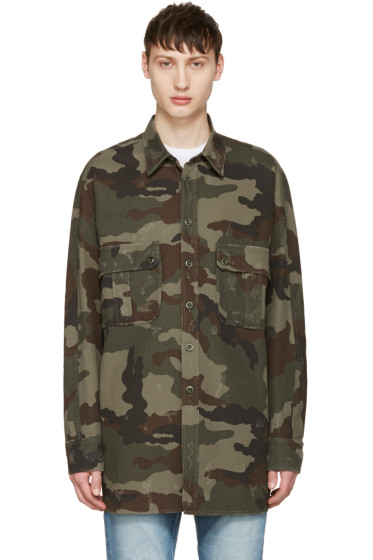 Faith Connexion - Khaki Camo Jacket