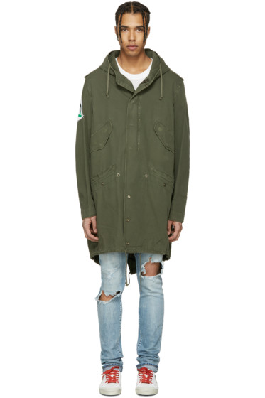Faith Connexion - Khaki Tag Tail Parka