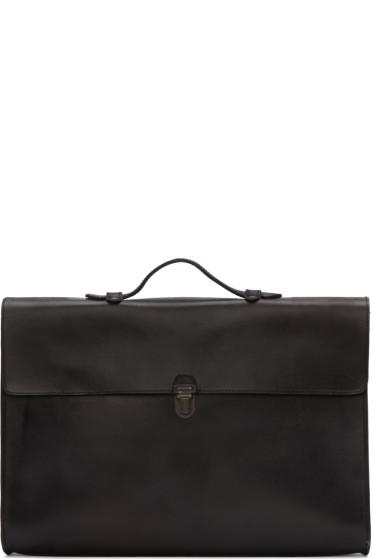Cherevichkiotvichki - Black Top Handle Bag