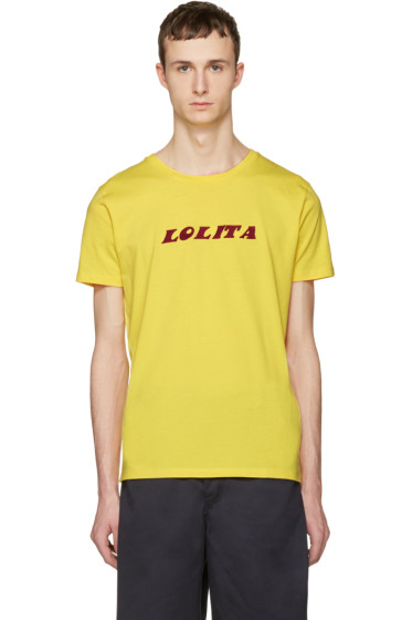 Nasaseasons - Yellow 'Lolita' T-Shirt