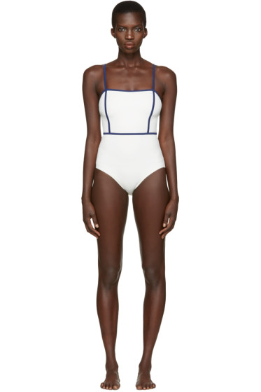 Solid & Striped - Off-White The Lexi Swimsuit