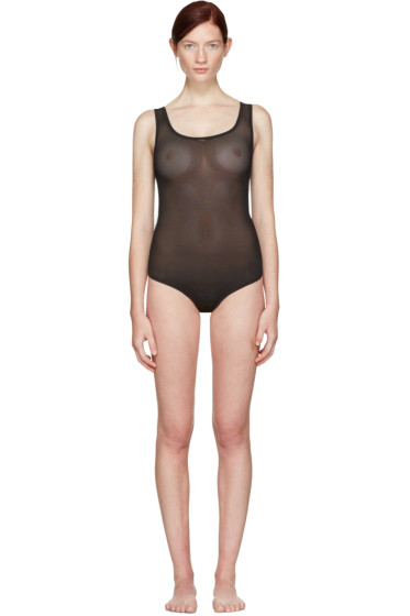 Land of Women - Black Mesh Bodysuit