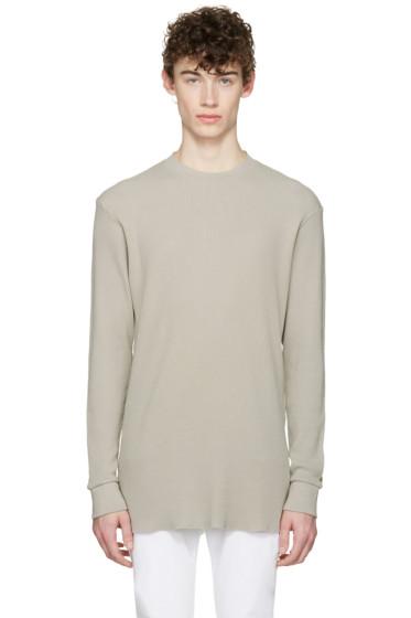 Aime Leon Dore - SSENSE Exclusive Grey Long Sleeve T-Shirt