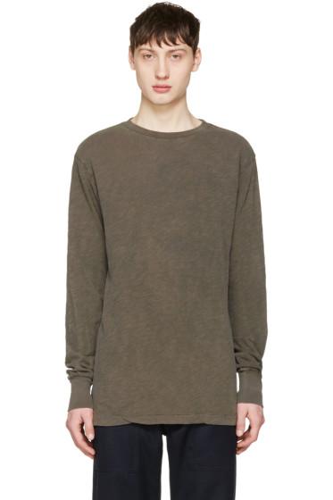 Aime Leon Dore - Khaki Loose T-Shirt