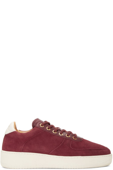 Aime Leon Dore - Burgundy Suede Sneakers
