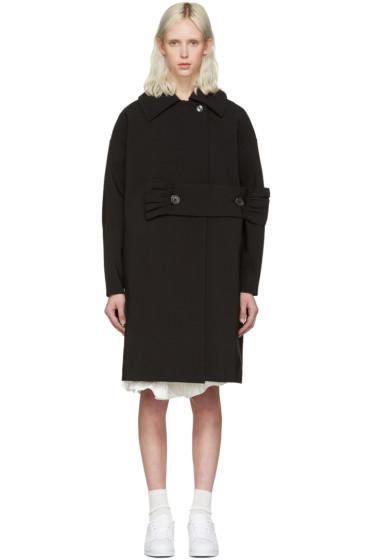 Shushu/Tong - Black Waist Band Coat