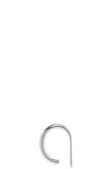 Saskia Diez - Silver Bold Wire Ear Cuff