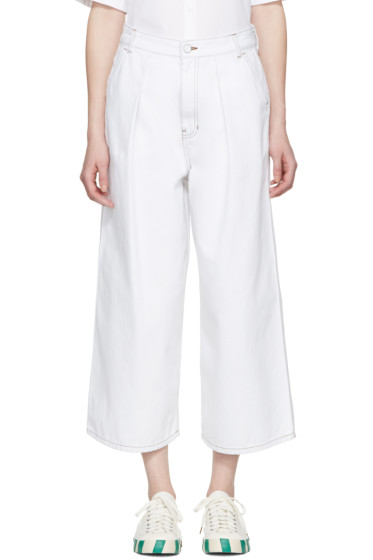 Kuho - White Denim One Jeans