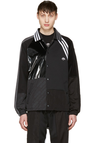 adidas Originals by Alexander Wang - Black Patch Jacket