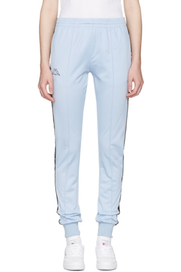 Kappa - SSENSE Exclusive Blue Logo Track Pants