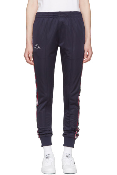 Kappa - SSENSE Exclusive Navy Track Pants