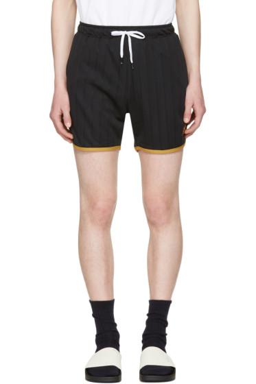 Kappa - Black Dinamo Athletic Shorts