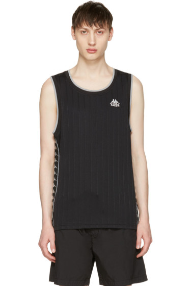 Kappa - Black Deepdale Tank Top