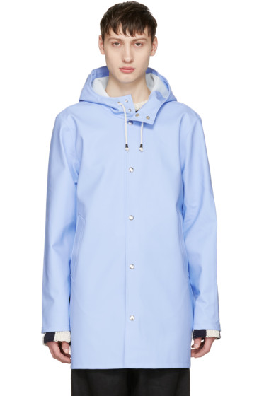 Stutterheim - Blue Stockholm Raincoat