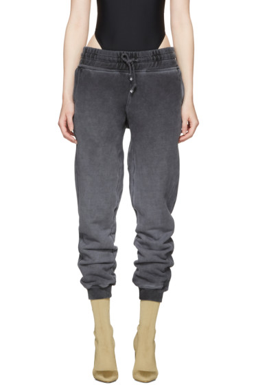 YEEZY - Black Panelled Sweatpants