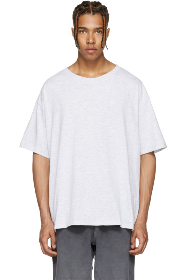 YEEZY - Grey Regular T-Shirt