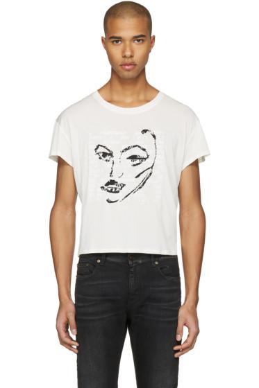 Empathy Los Angeles - Ivory 'Power' T-Shirt