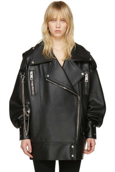 MISBHV - Black Leather Martina Jacket