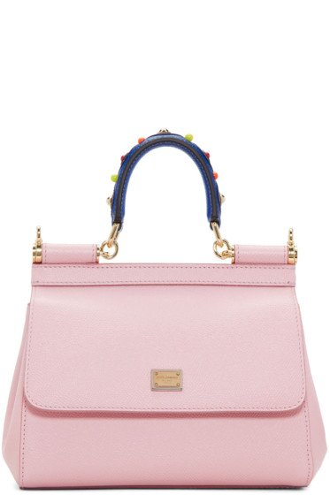 Dolce & Gabbana - Pink Mini Miss Sicily Bag