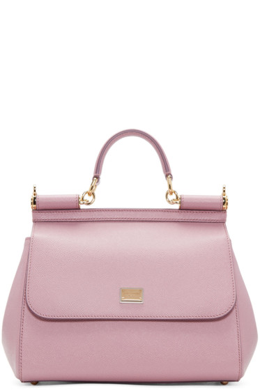 Dolce & Gabbana - Pink Medium Miss Sicily Bag