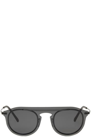 Dolce & Gabbana - ブラック シングルフレーム サングラス