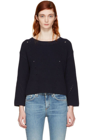 Rag & Bone - Navy Lara Sweater