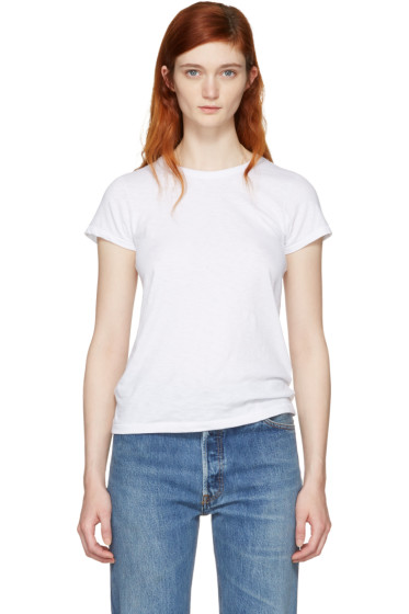 Rag & Bone - White 'The Tee' T-Shirt
