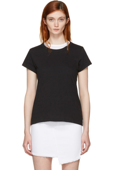 Rag & Bone - Black 'The Tee' T-Shirt