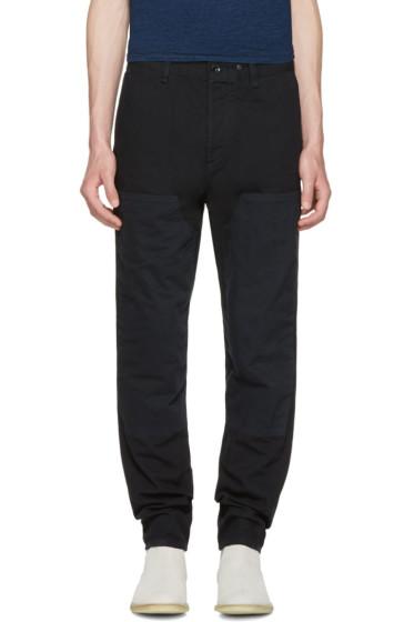 Rag & Bone - Black Engineered Workwear Chinos