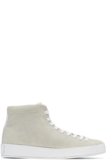 Rag & Bone - Off-White RB1 High-Top Sneakers