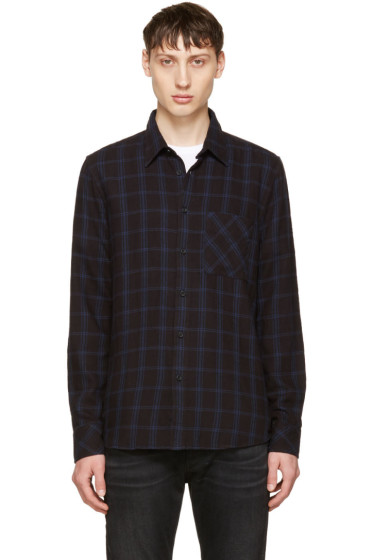 Nudie Jeans - Indigo Sten Window Check Shirt