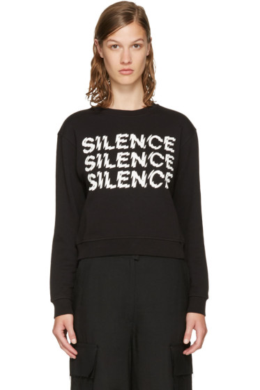 McQ Alexander McQueen - Black 'Silence' Sweatshirt