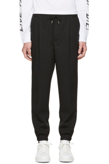 McQ Alexander McQueen - Black Tailored Lounge Pants