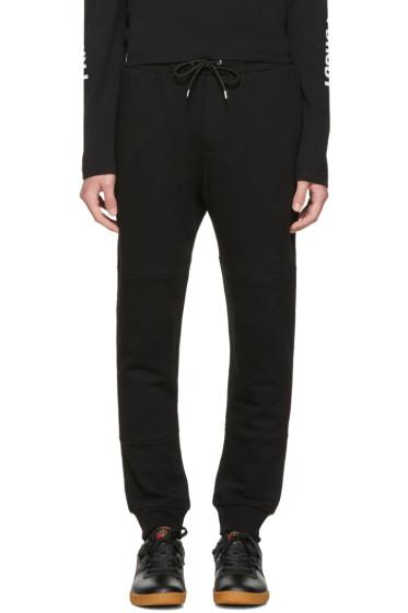 McQ Alexander McQueen - Black Logo Glyph Icon Lounge Pants