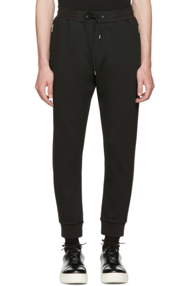 McQ Alexander McQueen - Black Mix Zip Lounge Pants