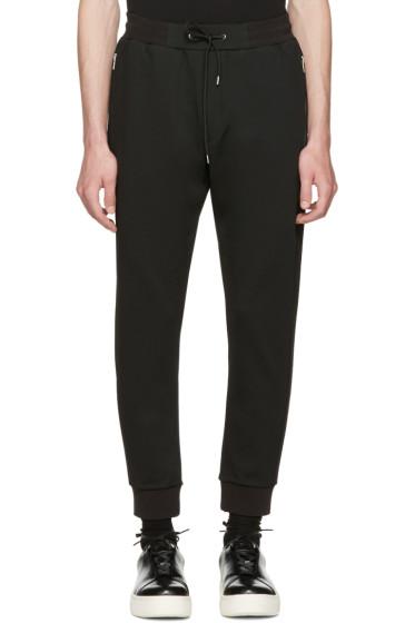 McQ Alexander McQueen - Black Mix Zip Lounge Pants