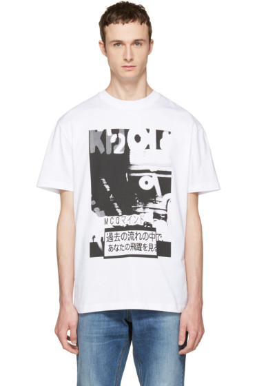 McQ Alexander McQueen - White Katsumi T-Shirt