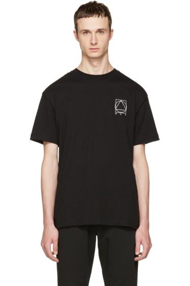 McQ Alexander McQueen - Black Logo Glyph Icon T-Shirt
