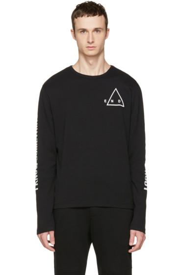 McQ Alexander McQueen - Black Kid T-Shirt