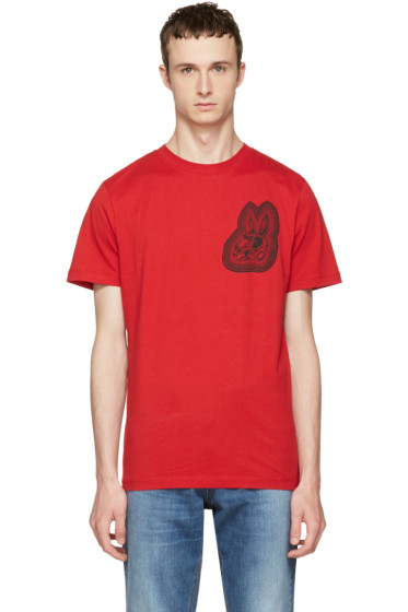 McQ Alexander McQueen - Red Bunny T-Shirt