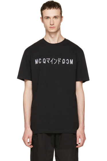 McQ Alexander McQueen - Black Katsumi T-Shirt