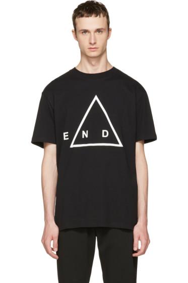 McQ Alexander McQueen - Black 'End' T-Shirt